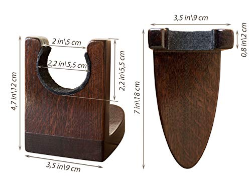 Guitar Holder Wall Mount - Wooden Guitar Hanger - Hook Stand Rack