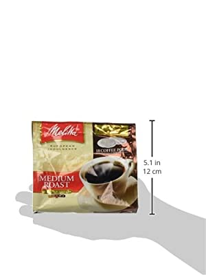 Melitta Medium Roast Soft Coffee Pods 18 Count Bag by Melitta