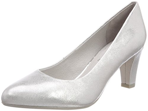 white silver Donna Con 22440 Natural Scarpe Tacco Be Argento n8AS0Xq4