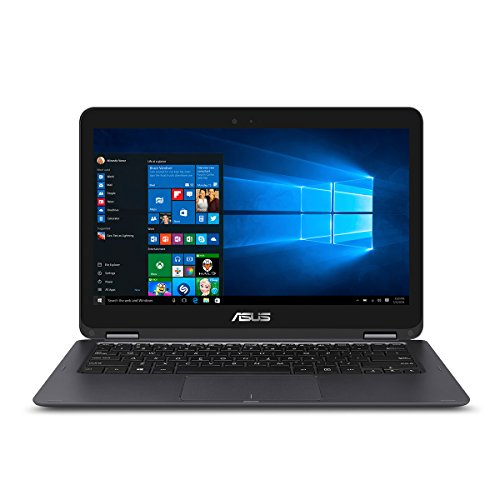 ASUS 2-in-1 Flip Thin and Light Laptop, 13.3-inch Full-HD Touchscreen , Intel Core i5-7Y54 Processor, 8GB DDR3 RAM, 512GB SSD, Windows 10 – UX360CA-AH51T