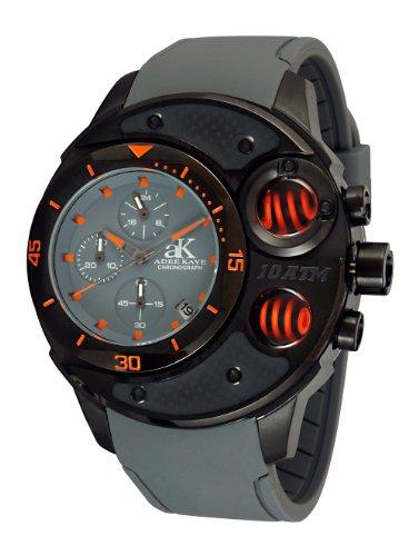 Adee Kaye Men's AK8003-MIPB/GY/GY-OR Commando Sports Chronograph Watch