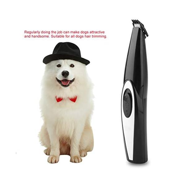 Comtervi - Cortapelos de Animales para Perros y Gatos, máquina de Corte Profesional para Perros, silencioso, cortapelos y máquina de Cortar 7