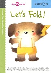 Folding paper provides an important tactile experience and fine motor control lesson for young children. This workbook progresses from simple one-fold projects, all way through beginning origami. Along the way, children will delight in creati...