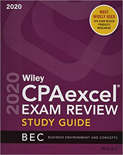 Regulation Question Pack Wiley CPAexcel Exam Review 2019 Study Guide