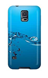 Durable Protector Case Cover With Water Drop Hot Design For Galaxy S5