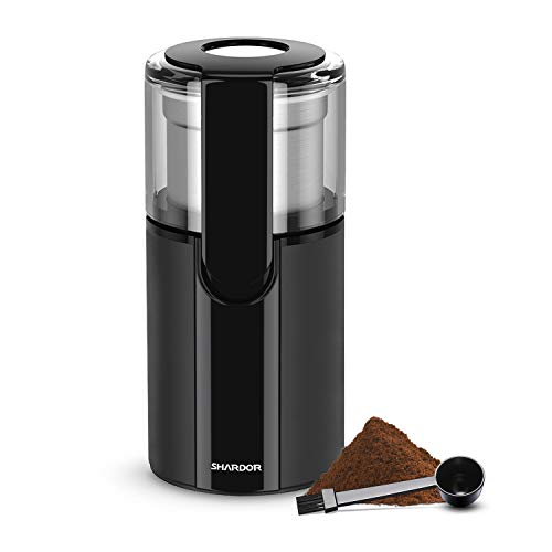Best Prices! SHARDOR Electric Coffee Grinder Electric Coffee Blade Grinders with Removable Stainless...