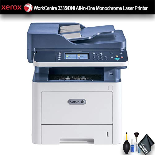Xerox WorkCentre 3335/DNI All-in-One Monochrome Laser Printer (3335/DNI) Essential Bundle ()