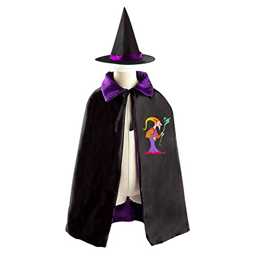 Greece Movie Halloween Costume (King of Ancient Egypt Kids' Fancy Cosplay Cloak with Witch Hat for Masquerade)