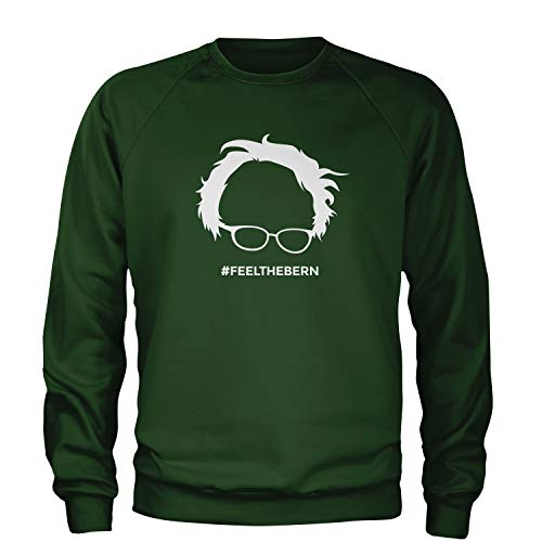 Crew Feel The Bern Adult Large Forest ()