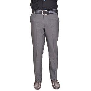AD & AV Men's Formal Trouser (GDGREY_137_BB) – Grey
