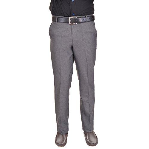 41lTtrLl4uL. SS500  - AD & AV Men's Formal Trouser (GDGREY_137_BB) - Grey