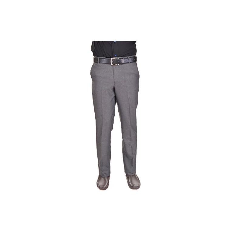 41lTtrLl4uL. SS768  - AD & AV Men's Regular Fit Formal Trousers