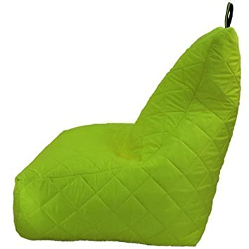 Fun!ture Green Quilted Water Resistant Bean Bag