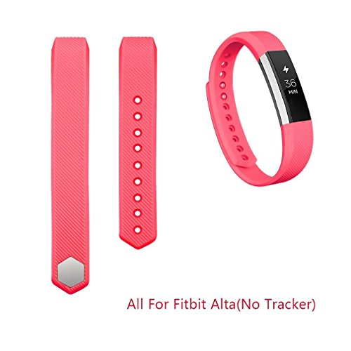 Fitbit-Alta-BandsAK-Replacement-Bands-for-Fitbit-Alta-with-Metal-Clasp-Red-Large