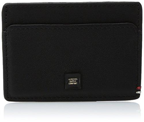 Wallet Slip Herschel Leather Supply Co Men's Supply Out Co Herschel Blacked TRH8UpRq