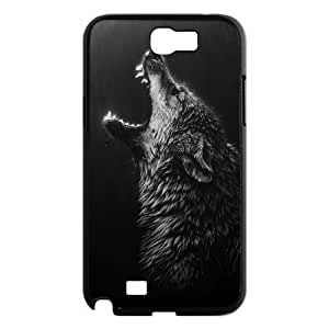 Black Wolves New Printed Case for Samsung Galaxy Note 2 N7100, Unique Design Black Wolves Case