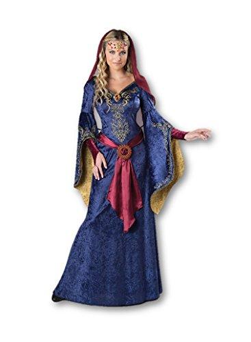 Fun World Women's Maid Marian Costume, Dark Blue, M -