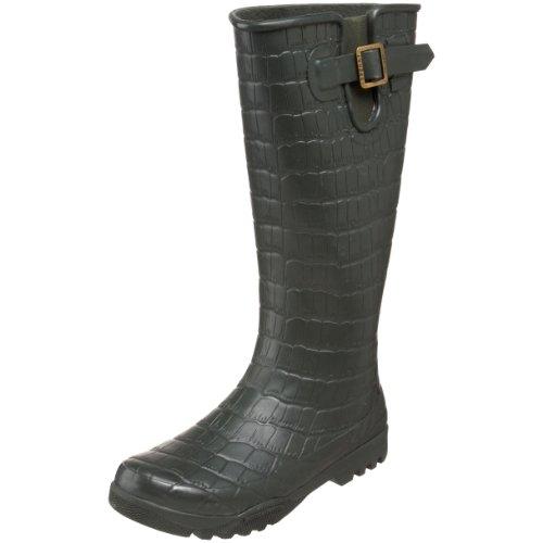 animal print rain boots for women - 8
