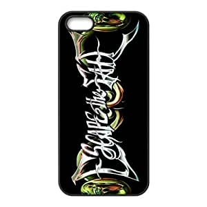 Gators Florida USA-3 Music Band Escape The Fate Print Black Case With Hard Shell Cover for Apple iPhone 5