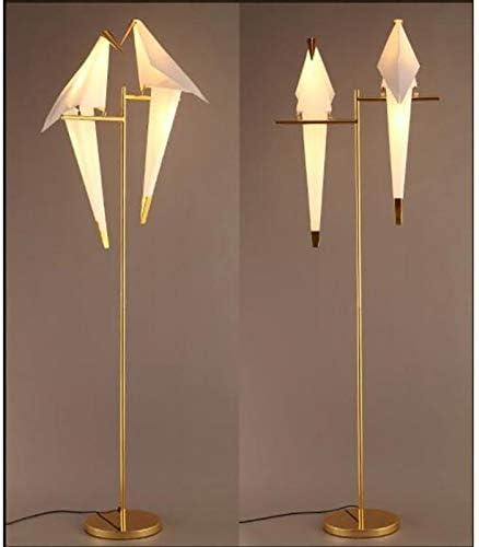 Modern Floor Lamp Golden Finish Bird Swing Table Lamp Suitable
