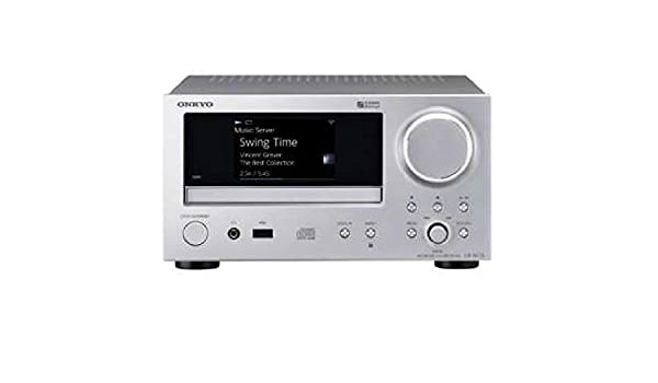 Amazon com: ONKYO Network CD Receiver CR-N775-S (SILVER