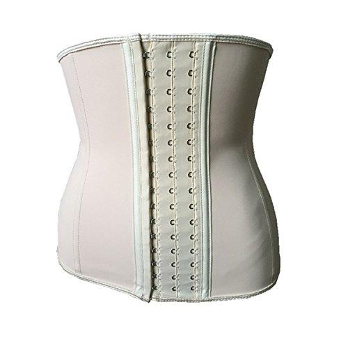 ion Waist Trainer Slimming Underwear Cincher Corset Slimming BeltShapers Body Shaper Slimming Corset 9 Steel Bone Skin L ()