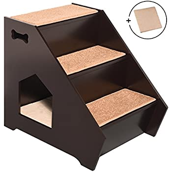 Amazon.com : Animal Planet Wooden Pet Stairs (Colors and