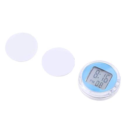 Sharplace Reloj Digital de Motocicleta Pieza de Recambio para Motocicleta Universal - Azul