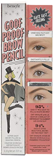 Benefit Goof Proof Brow Pencil Super Easy Eyebrow Shaping and Filling Tool – Shade 4
