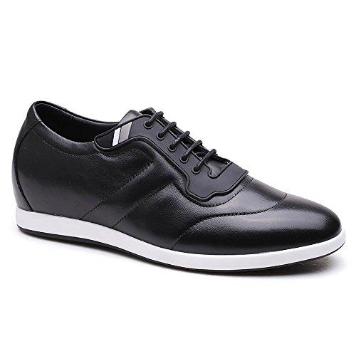 Et Sport Mens Brun Noir H72305k111d De Cuir Augmenter Cm Chamaripa Chaussures 6 Ia40xan