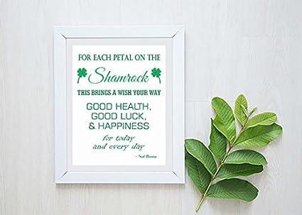 Feliz San Patricio - Inspirational Quote - irlandés bendición ...