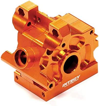 T5022ORANGE Integy Machined Front//Rear Gear Box Case for HPI Savage XS Flux