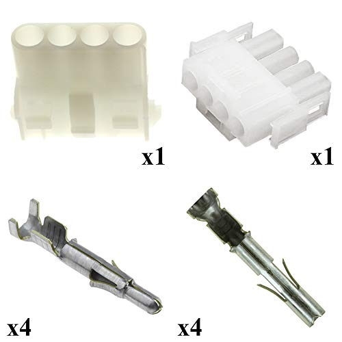 Kit Conector y terminal Tyco universal mate N Lok macho hembra 4/V/ías