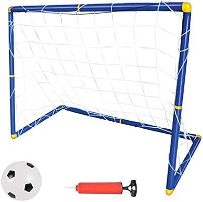 TOYANDONA Juego de Pelota de Fútbol de Fútbol con Objetivo de ...