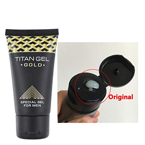 Image of HOT Sale 1pc Titan Gel Gold Intimate Gel for Man