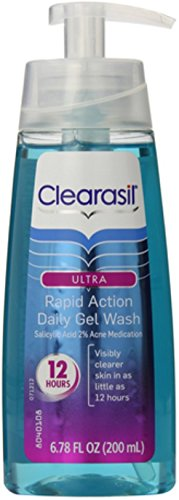 clearasil-ultra-rapid-action-daily-gel-wash-678-oz-pack-of-4