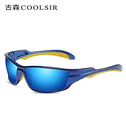 nbsp;UV nbsp;conducción nbsp;Gafas nbsp;Gafas de de Gafas nbsp;conducción nbsp;Sol de nbsp;Espejo frame 1 nbsp; Hombre sunglasses Gafas de Blue Caja de Deportivas nbsp;polarizadas Mjia Sol roja 8aHAqw0T