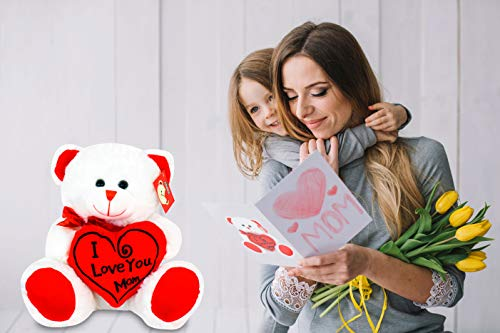 Mother/'s Day Gift Birthday Present for Mummy I Love Mummy This Much Teddy Bear