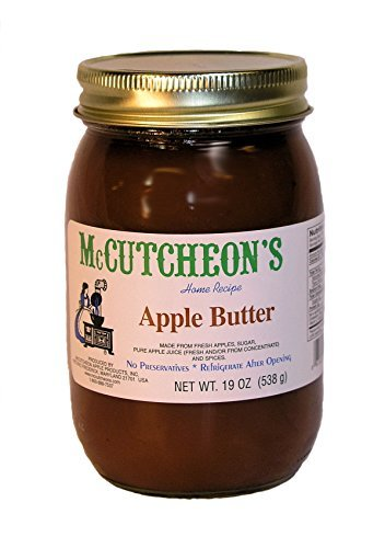 Mc Cutcheon's Old Fashioned Apple Butter, 19 Oz (Butter Apple Spread)
