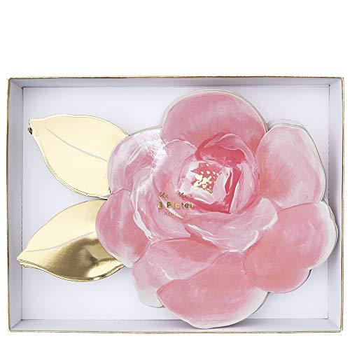 Meri Meri Rose Garden Plates