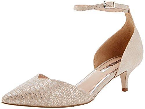 Beige Mujer Zapatos Angeline Miss nude Kg De Tacón Para xf0EqBYqRw