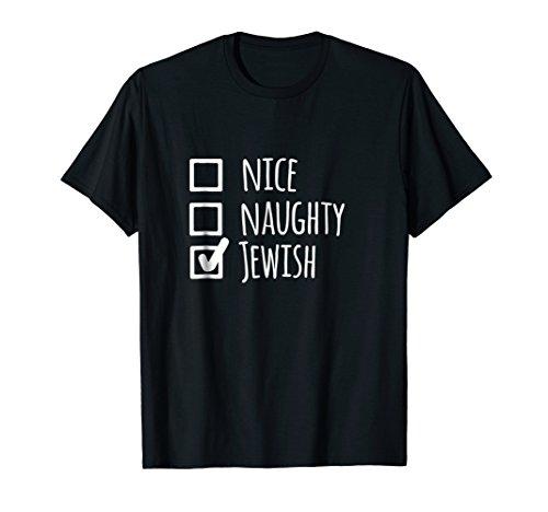 (Funny Jewish Holiday T-Shirt On Christmas - Hanukkah Gift)