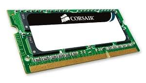 Corsair Value Select - Módulo de memoria SODIMM de 4 GB (1 x 4 GB, DDR2 800 MHz, CL5) (VS4GSDS800D2)