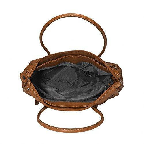 PICARD Damas Bolsillo Satchel Bolsa de hombro San Marino Cognac 9727