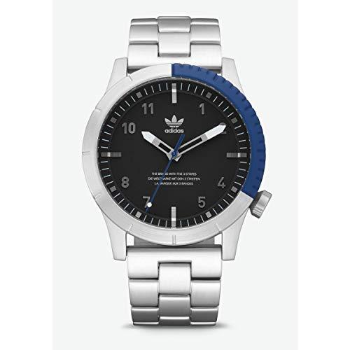 Adidas Reloj Analógico para Hombre de Cuarzo con Correa en Acero Inoxidable Z03-2184-00: Amazon.es: Relojes
