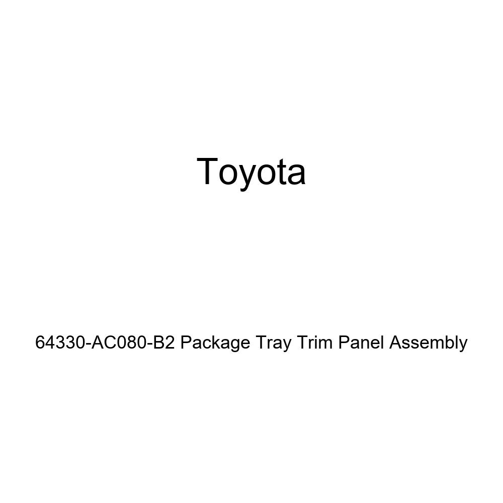 TOYOTA Genuine 64330-AC080-B2 Package Tray Trim Panel Assembly