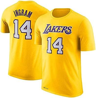 Camiseta De Manga Corta De Los Angeles Lakers De Los NBA ...