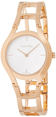 Calvin Klein Class Ladies Watch Swiss Made Stainless Steel Rose Gold K6R23626 by Calvin Klein