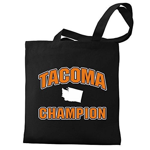 Bag Tote Eddany Tacoma Eddany Canvas champion Tacoma 8YzPqv