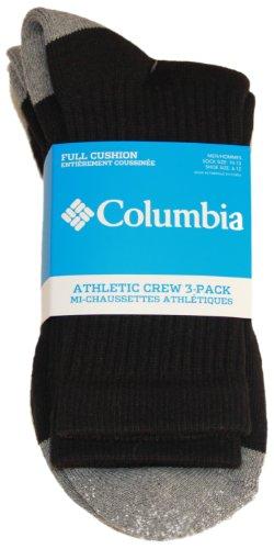 Columbia Socks Men (Columbia Mens 3-pk. Athletic Toe Block Crew Socks 10-13)